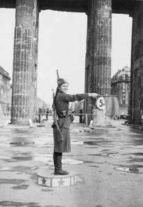 RUSSIAN FORCES IN BERLIN, 1945