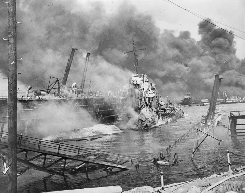 an in depth description of the events of the attack on pearl harbor in 1941 On december 7, 1941, japan staged a surprise attack on pearl harbor,  decimating the us pacific fleet when germany and italy declared war.