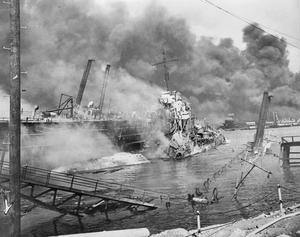 THE JAPANESE ATTACK ON PEARL HARBOUR, 7 DECEMBER 1941