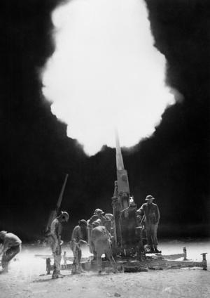AUSTRALIAN FORCES AT TOBRUK, 1941