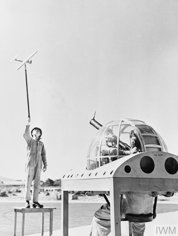 SCENES AT A SOUTH AFRICAN AERODROME, 1941
