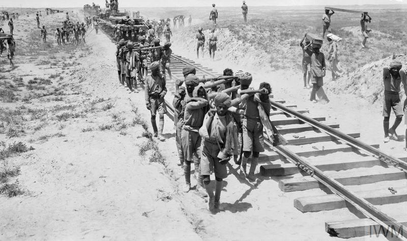 THE CAMPAIGN IN MESOPOTAMIA, FIRST WORLD WAR
