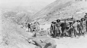 THE CAMPAIGN IN PALESTINE 1917-1918