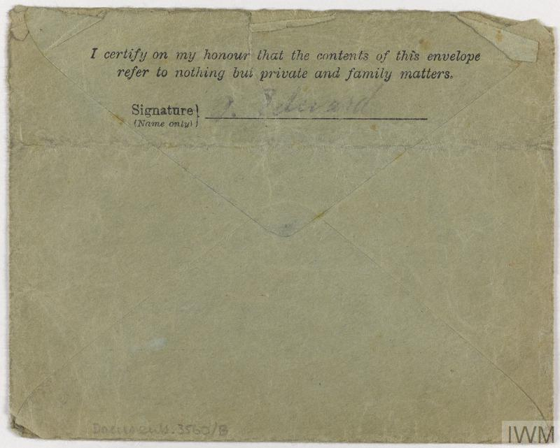 Private Papers of A Edwards