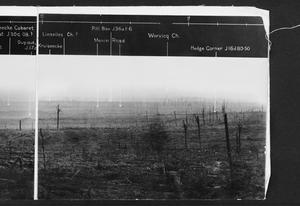 BRITISH OFFICIAL PANORAMAS OF THE WESTERN FRONT 1914 - 1918