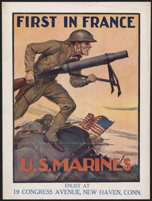 First in France - US Marines
