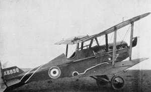 BRITISH AIRCRAFT OF THE FIRST WORLD WAR