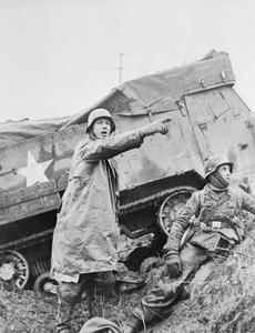 THE SECOND WORLD WAR 1939 - 1945: THE ALLIED CAMPAIGN IN NORTH-WEST EUROPE JUNE 1944 - MAY 1945