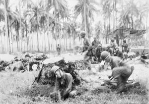 THE SOUTH WEST PACIFIC FRONT 1943 - 1945