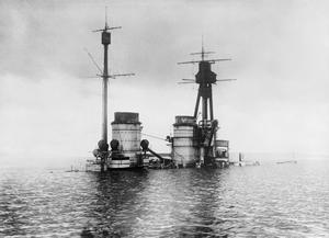 SURRENDER AND SCUTTLING OF THE GERMAN FLEET AT SCAPA FLOW, NOVEMBER 1918 - JUNE 1919