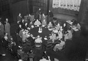 THE POTSDAM CONFERENCE, JULY 1945