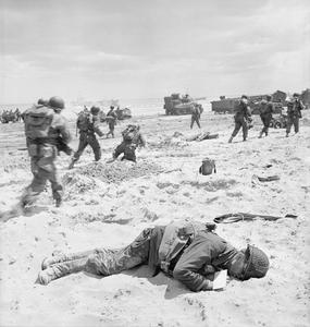 an account of events during the 1944 invasion of normandy operation overlord Start studying wwii quiz 4 learn vocabulary aka operation overlord the code name for the allied invasion of europe at normandy on june 6, 1944.