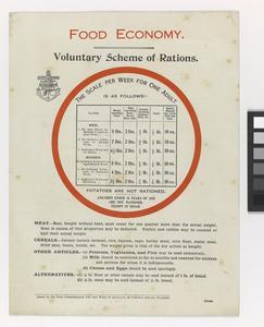 Voluntary scheme of rations