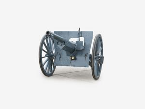 75 mm Model 1897 Field Gun (French) and limber