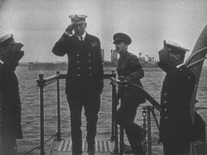 HM VISIT TO THE GRAND FLEET [Main Title]