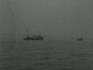 AN HISTORICAL OCCASION : the arrival of the advance guard of America's fighting forces in British waters [Main Title]