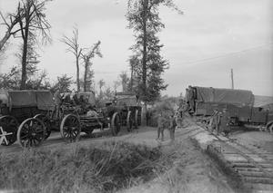THE MECHANISED TRANSPORT DURING THE FIRST WORLD WAR