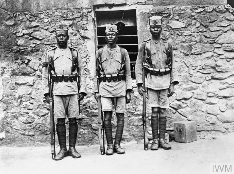 THE CAMPAIGN IN GERMAN EAST AFRICA, 1914-1918