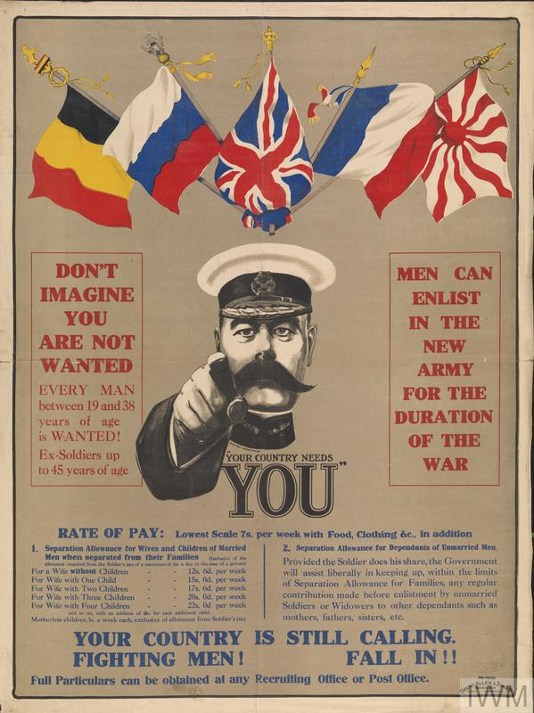 your country needs you  art iwm pst 0414