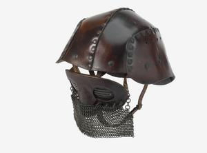 Helmet, leather tank helmet