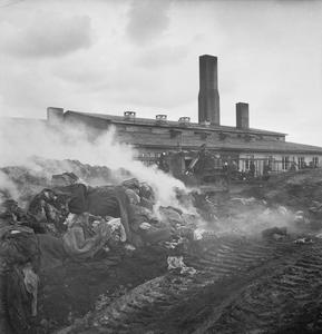 THE LIBERATION OF BERGEN-BELSEN CONCENTRATION CAMP, MAY 1945