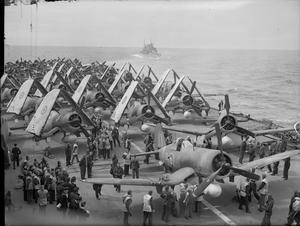 THE FLEET AIR ARM AT SEA, JULY 1944