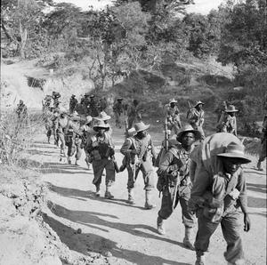 AFRICAN TROOPS IN BURMA DURING THE SECOND WORLD WAR