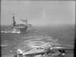 THE ROYAL NAVY IN THE MEDITERRANEAN, AUGUST 1942