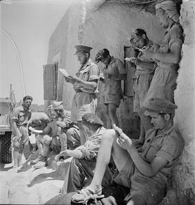 THE LONG RANGE DESERT GROUP (LRDG) DURING THE SECOND WORLD WAR