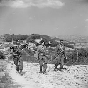 BRITISH SPECIAL FORCES IN ITALY, 1945