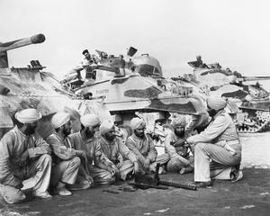 INDIAN ARMOURED CORPS IN THE MIDDLE EAST, 1944