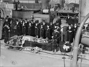 BURIALS AT SEA