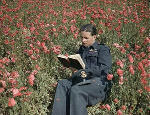 WING COMMANDER GUY GIBSON, VC, DSO AND BAR, DFC AND BAR, COMMANDER OF 617 SQUADRON (DAMBUSTERS) AT SCAMPTON, LINCOLNSHIRE, 22 JULY 1943