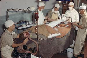 BRITISH ARMY MEDICAL SERVICES IN ITALY, 1944