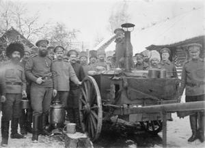 THE RED CROSS ON THE EASTERN FRONT, 1914-1917