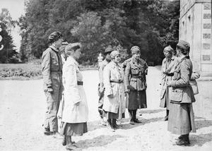 THE FIRST AID NURSING YEOMANRY ON THE WESTERN FRONT, 1914-1918