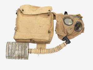 Respirator, Small Box Type & Haversack: British