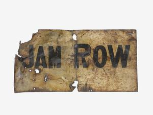 trench sign, Jam Row