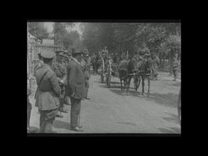 VISIT OF THE HON J R BENNETT, MINISTER OF MILITIA OF NEWFOUNDLAND, TO FRANCE, 1918 [Main Title]
