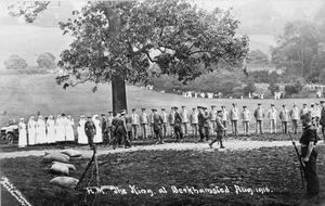 BRITISH ARMY TRAINING 1914-1918