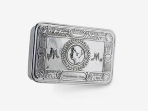 Princess Mary's Gift Fund 1914 Box, silver plated