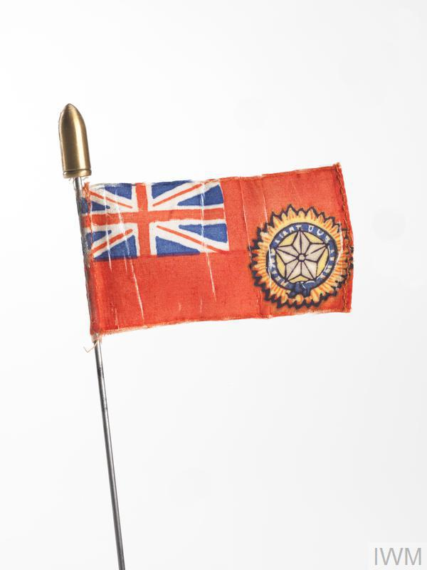 miniature flag, Indian Empire Marine