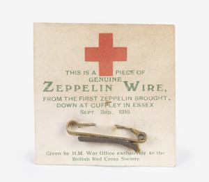 Zeppelin wire memento