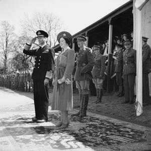 THE BRITISH ROYAL FAMILY DURING THE SECOND WORLD WAR