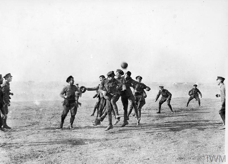 SPORT & LEISURE IN THE BRITISH ARMY DURING THE FIRST WORLD WAR