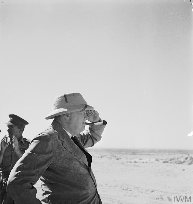 THE CAMPAIGN IN NORTH AFRICA 1940-1943: MR CHURCHILL VISITS THE WESTERN DESERT