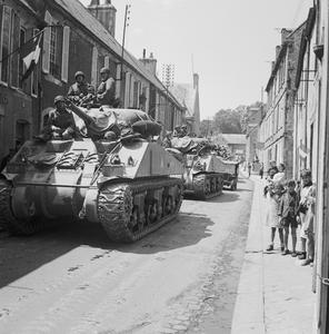 THE ALLIED CAMPAIGN IN NORTH-WEST EUROPE, 6 JUNE 1944 - 7 MAY 1945