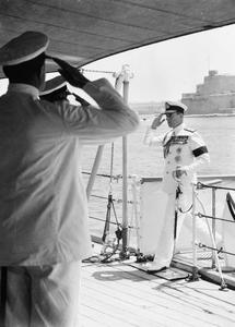 ADMIRAL OF THE FLEET EARL MOUNTBATTEN OF BURMA