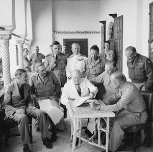 THE CAMPAIGN IN NORTH AFRICA 1940 - 1943: CHURCHILL IN NORTH AFRICA