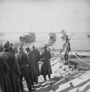 THE CAMPAIGN IN ITALY, JANUARY 1944